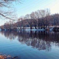 синий день на реке :: юрий иванов