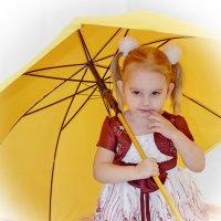 Кокетка под жёлтым зонтом! :: A. SMIRNOV
