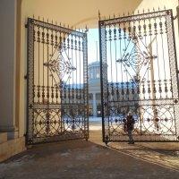 Ворота во дворец Юсупова :: Мила