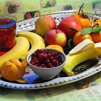 Кто в холод фрукты ест и пьёт, того простуда не берёт! :: Андрей Заломленков