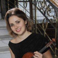 скрипачка Полина :: Тарас Золотько