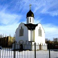 Храм в честь святой блаженной Матроны Московской. :: Борис Митрохин