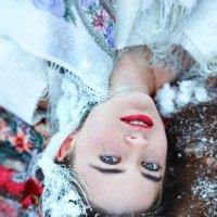 На снегу :: Ирина Пирогова
