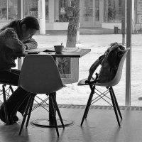 В кафе :: Марина Marina