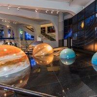 В музее Московского планетария :: Владимир Безбородов