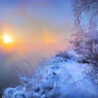Морозный рассвет .... :: Андрей Войцехов