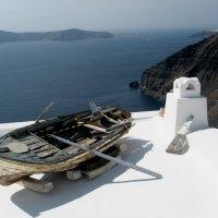 Греция, о. Санторини, г. Фира :: Svetlana (Lucia) ***