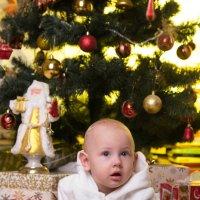 Ребёнок под ёлкой :: Valentina Zaytseva