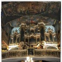 Орган в деревянной церкви :: Николай Милоградский