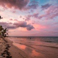 Закат над Атлантическим океаном :: Наталия Горюнова