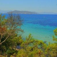 Красивый пляж на о.Эгина. :: Оля Богданович