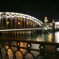 Большеохтинский мост (Императора Петра Великого). Санкт-Петербург :: Мария Самохина