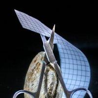Камень, ножницы, бумага :: Женечка Зяленая
