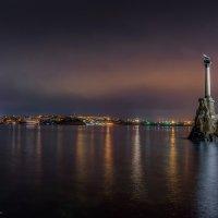 Неповторимые краски ночного Севастополя :: Александр Пушкарёв