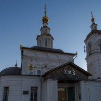Вечер у Вознесенской церкви :: Сергей Цветков