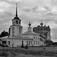 Старый монастырь (Артемиев Веркольский мужской монастырь Архангельской губернии примерно 1635 г.) :: владимир