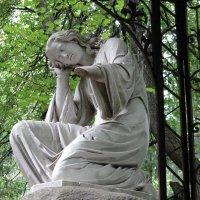 Скорбящий ангел-Павловский парк :: Алексей Цветков
