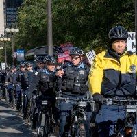 Полиция. Сопровождение демонстрации :: MVMarina