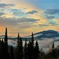 Вечерний туман :: Сергей Чиняев