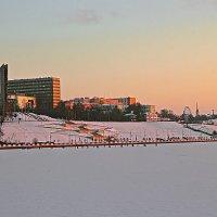 Набережная ижевского пруда :: Олег Резенов