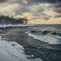 Замерзающий Байкал :: Сергей Алексеев