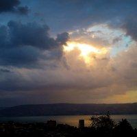Город в облаках :: Александр Деревяшкин