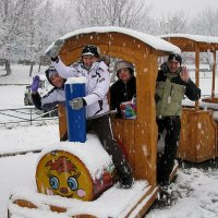 Паровозик из снежинкино.) :: ЕВГЕНИЯ