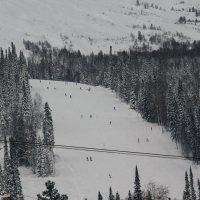 Шерегеш, ноябрь 2016 :: Олег Афанасьевич Сергеев