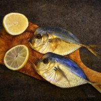 Рыбки вомер и лимон :: Галина Galyazlatotsvet