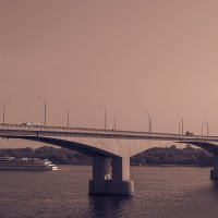 Мост через Волгу :: Сергей Цветков