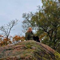 Тепло древнего гранита... :: Sergey Gordoff