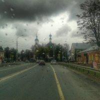 Капли дождя. :: Игорь Карпенко