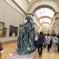 Куда? Это же Лувр! :: Виктор Никаноров