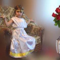 Гречанка. Моя внучка Саша. :: Юрий Пожидаев