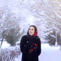 зима-красавица :: Анастасия Позднякова