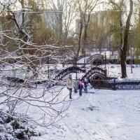 Первый снег у нас! :: Варвара