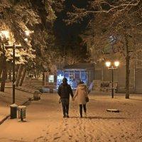 в зимнем парке :: Игорь Kуленко