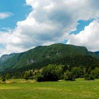 Там, где небо встречается с землею.... :: Светлана Игнатьева