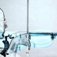 "На выставке работ Чанг Тэ-Саб. ""Мелодия на скрипке"" :: Valery Penkin"