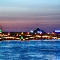 Троицкий мост :: Алексей Кудрявцев
