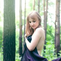 В лесу :: Дарина Шестопалова
