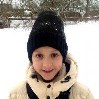 Зима в глазах ребенка :: Alexandra Sadovskaya