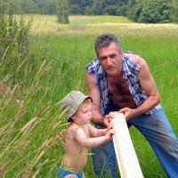 ...когда мужчины работают!.... :: Ира Егорова :)))