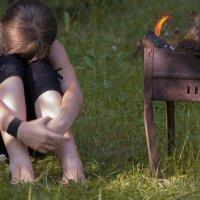 тепло и грустно :: Татьяна Мартынова