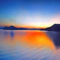морская палитра заката :: viton