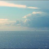 Голубая мечта :: Анастасия Клецова
