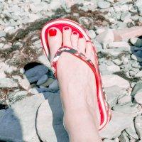 Ножка... на пляже)) :: Елена Васильева