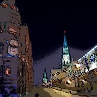 Кремль ночью :: Serb