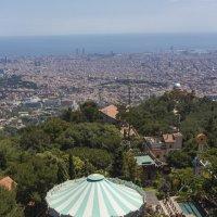 Вид на Барселону с горы Тибидабо! :: Вадим Лячиков