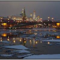Москва река :: Борис Гольдберг